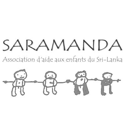 Logo de SARAMANDA Association d'aide aux enfants du Sri Lanka
