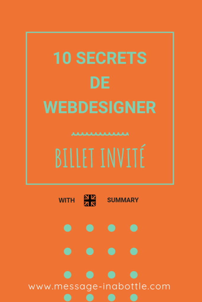 10 secrets de webdesigner