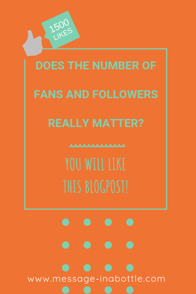 number fans followers matters