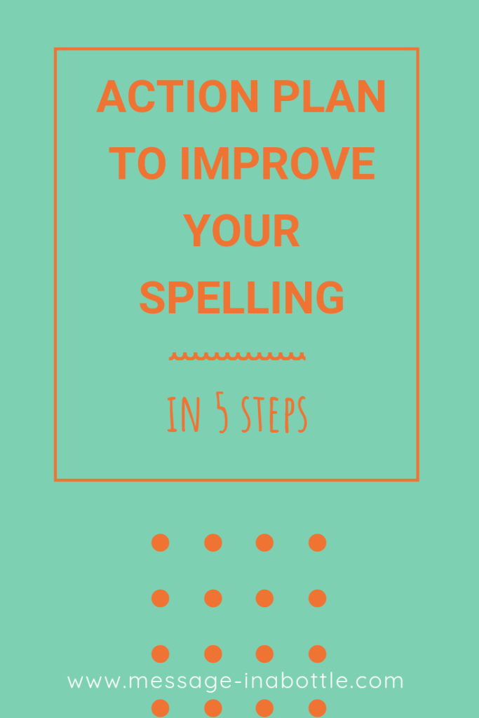 action plan improve spelling