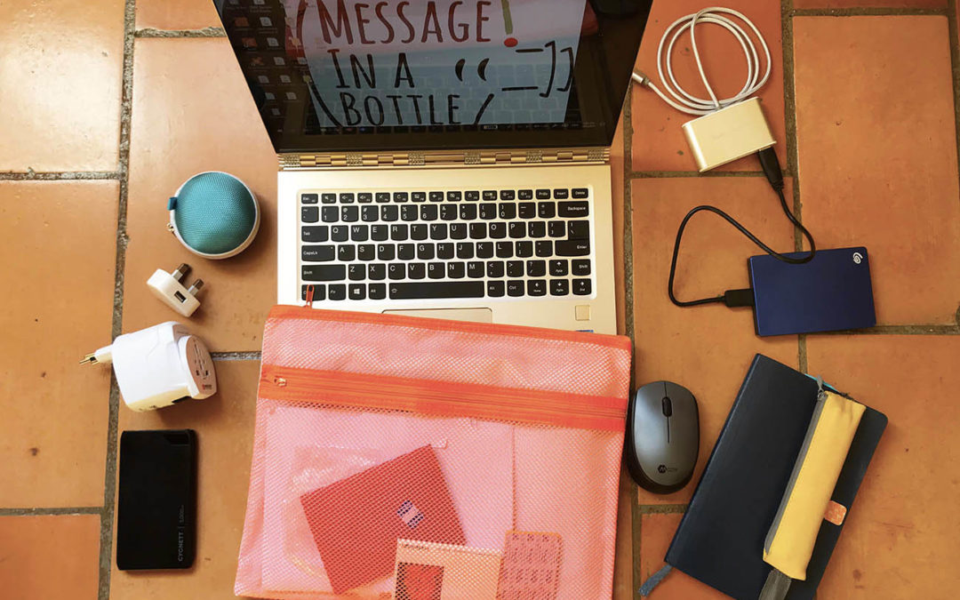 My mobile office: my travel essentials