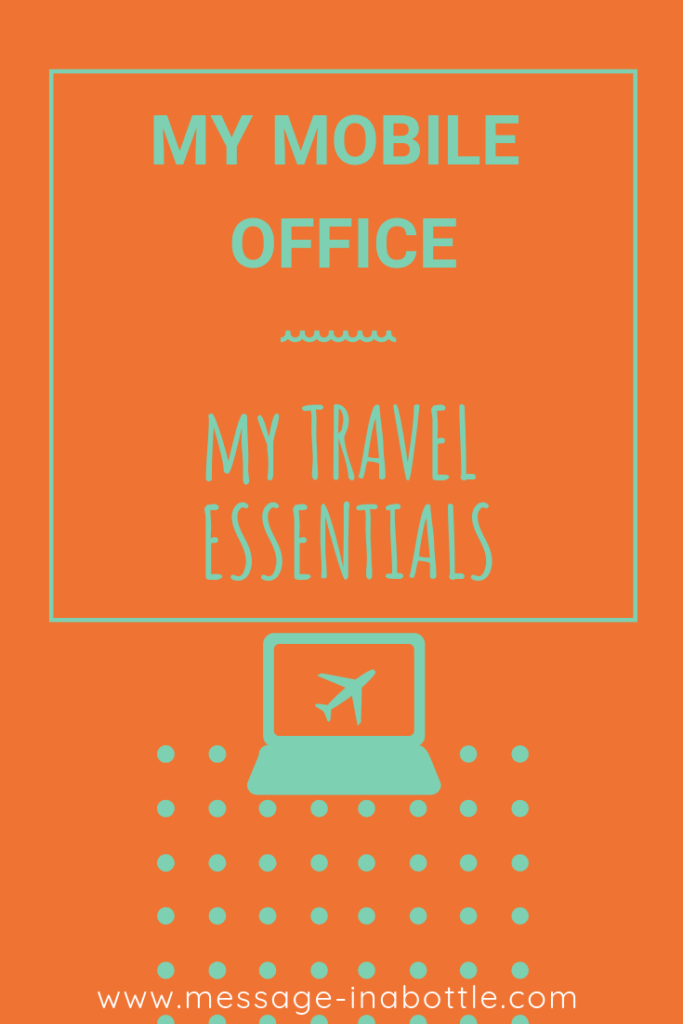 mobile office travel essentials